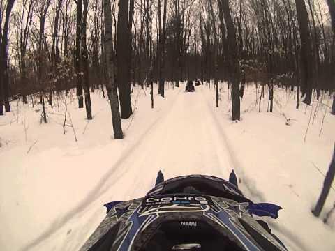 Brantingham sled ride part 2 12/29/13
