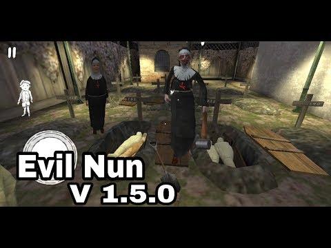 EVIL NUN Horror game New update v 1.5.0 full gameplay