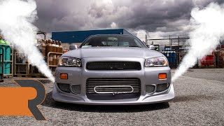 He Built Brian O'Conner's 2F2F Skyline R34 GTR! | The Spirit Carries On