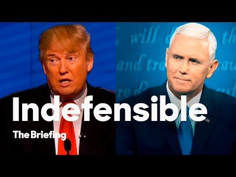 Mike Pence couldn't defend Donald Trump at the Vice Presidential debate | The Briefing