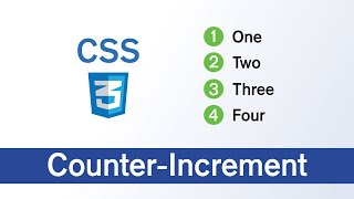 CSS Counter & Counter-Increment with example