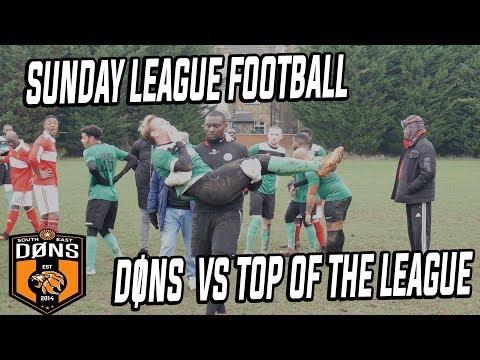 SE DONS Sunday League Football: Vs TOP OF THE LEAGUE