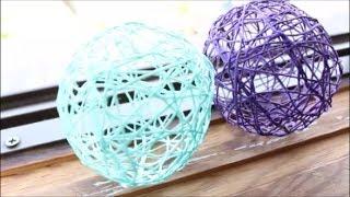 DIY: string/Yarn Balls
