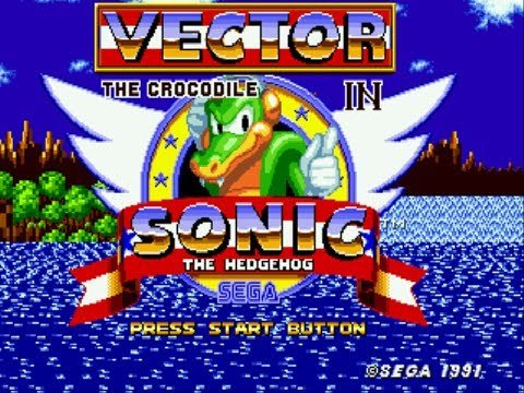 Vector The Crocodile In Sonic The Hedgehog Youtube