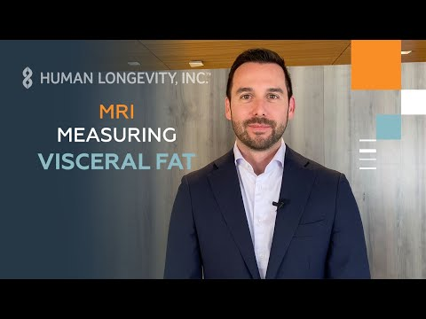 Visceral Fat MRI measuring visceral fat