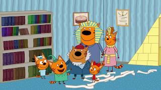 Три кота | Сокровища Египта | Серия 59 | Мультфильмы для детей