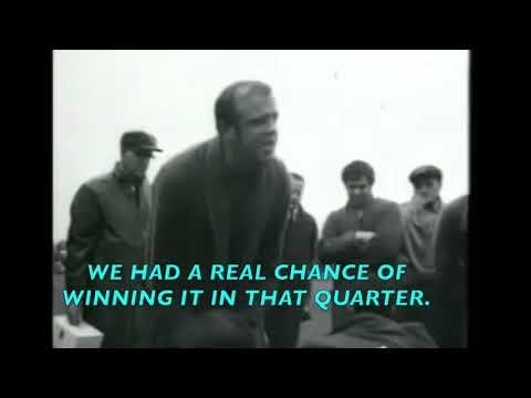 Ted Whitten Famous 3 Quarter Time Speech