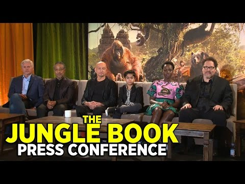 """FULL """"The Jungle Book"""" press conference with director Jon Favreau and cast"""