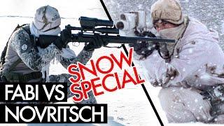 Novritsch vs. Sniperbuddy Fabi 2 - Snow Sniper Edition