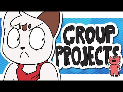 Group Projects. [Animated Story]