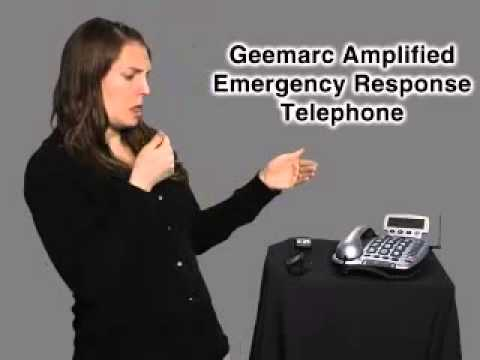 GEEMARC AMPLIFIED EMGERGENCY RESPONSE TELEPHONE