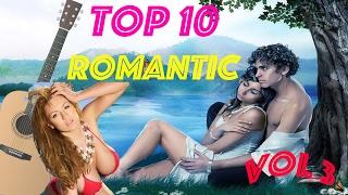Top 10 romantic guitar vol.  3/ 10 лучших, романтических пьес для гитары 3 выпуск.