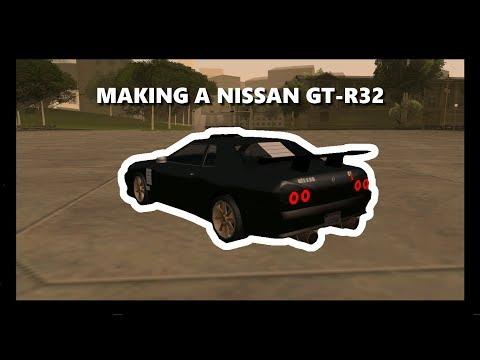 [SAMP] Making An Elegy As A Nissan SKYLINE GT-R32 In UIF Server