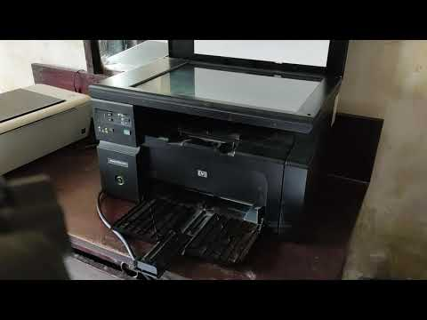 How To Use Laser Jet M1136 Mfp And Installing Software Of It.
