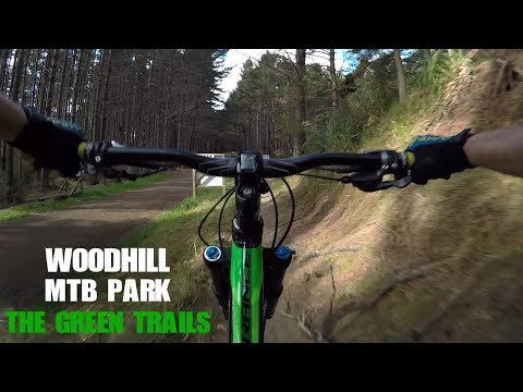 Woodhill MTB Park - The Green Trails   [Ep#1]