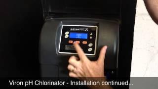 viron ph chlorinator installation menu