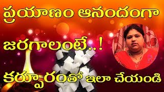 ప్రయాణం ఆనందంగా జరగాలంటే..! కర్పూరంతో ఇలా చేయండి | Astrology in Telugu | Ramya TV Show