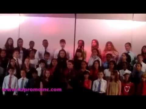 Performance by Tangier Smith Elementary School 5th Grade Chorus Dec 2015   KZPROMO