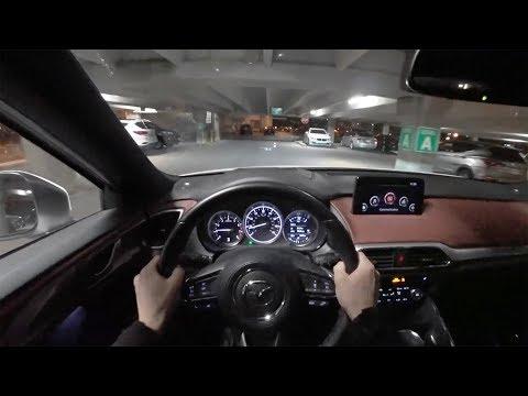 2018 Mazda CX-9 Signature - POV Night Drive (Binaural Audio)