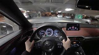 2018 Mazda CX 9 Signature POV Night Drive Binaural Audio