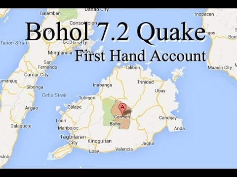 Bohol Earthquake: Downtown Tagbilaran Damage - Philippines