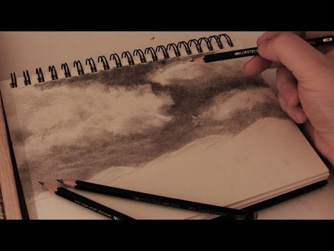 how-to-draw-realistic-clouds---full-length-tutorial-w/-commentary
