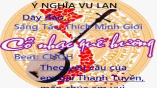 Bài đàn vọng cổ: Ý NGHĨA VU LAN - dây đào