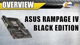 asus rampage iv black edition lga 2011 intel x79 extended atx motherboard overview newegg tv