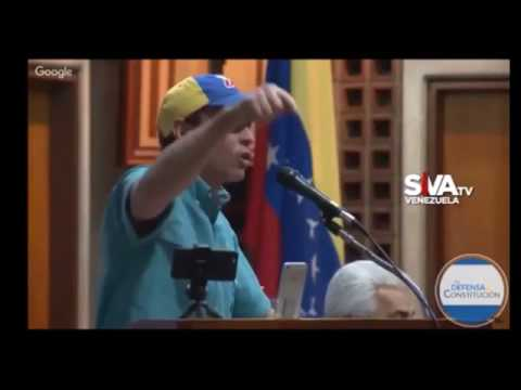 """Henrique Capriles Radonski : """"Aqui no hay un Mesias"""""""