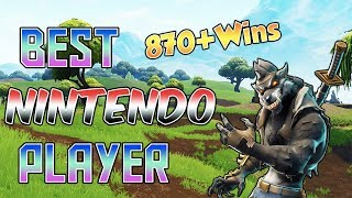 Fortnite Best Nintendo Switch Player 880+ Wins! (Scrim 1v1 Games) NEW MEMBER EMOJIS