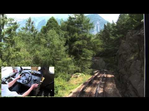 En cabine du Mont Blanc Express 2.2