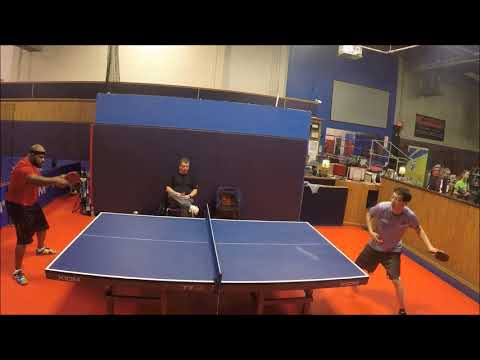 My Best Forehand Penhold usatt 1000 | Table Tennis Practice #7 | 2018-03-07