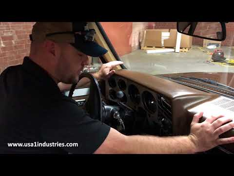 USA1 INDUSTRIES CHEVY SILVERADO & GMC TRUCK DASH PAD INSTALLATION TIPS!