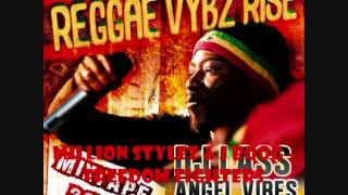 REGGAE VYBZ RISE MIXTAPE by DJLass Angel Vibes (November Refix 2013)