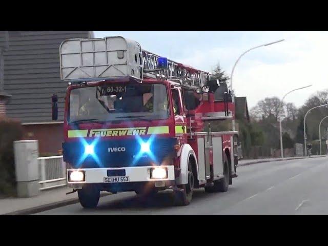 [Personen in Strommast] Erweiterter Löschzug FF Henstedt-Ulzburg