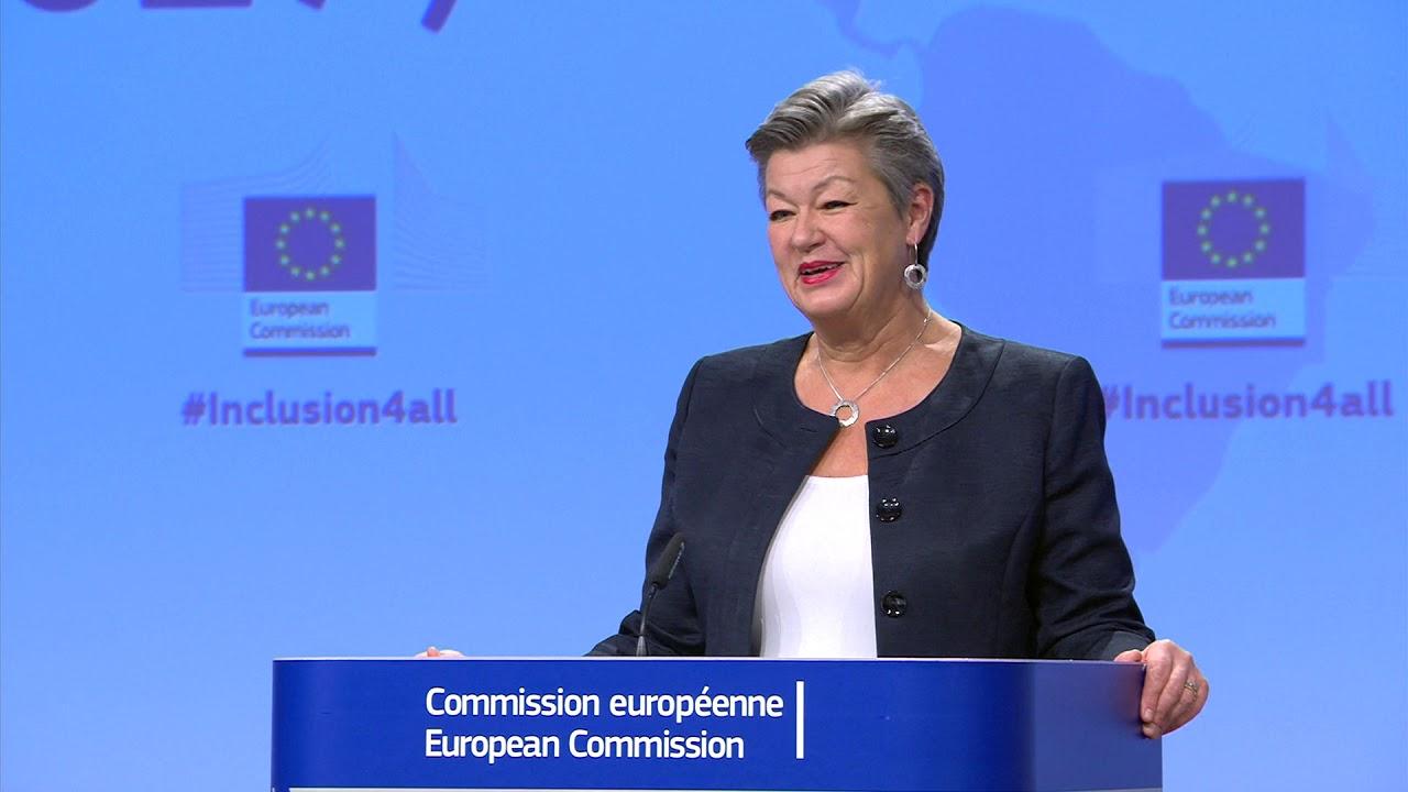 """Az Európai Bizottság bevándorlásról szóló tervének bemutatása: """"Teljes befogadás"""", 2021-2027"""