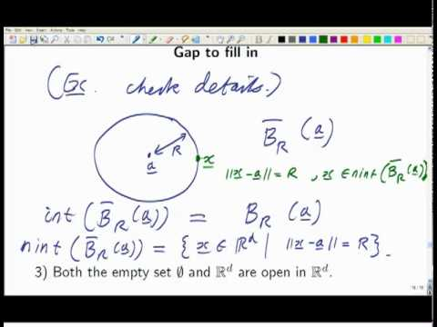 Lecture 6: Math. Analysis   Interior Points/ Non Interior Points