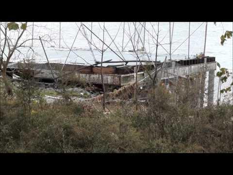 Hurricane Sandy Destruction @ Staten Island Conference House & Perth Amboy NJ