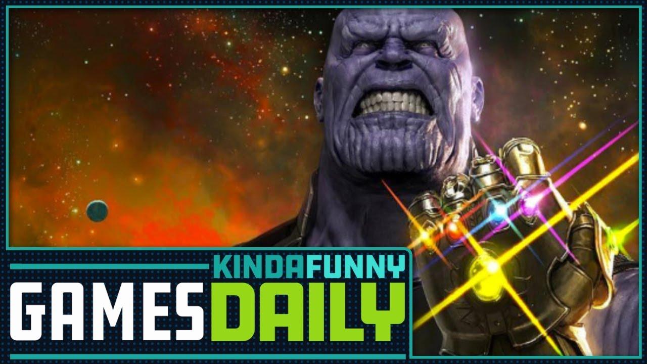 fortnite x the avengers: infinity war - kinda funny games