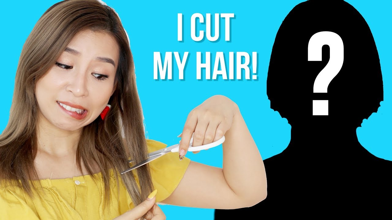 I Cut My Hair! New Hair Transformation || Tina Yong