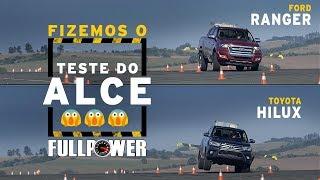 Ford Ranger X Toyota Hilux No Teste Do Alce: Tem Rodas No Ar, Sim!