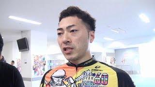 【GⅠオールスター競輪】SS賞を制した新田祐大は苦悶の表情