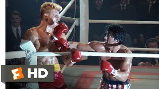 Rocky IV (8/12) Movie CLIP - The Russian