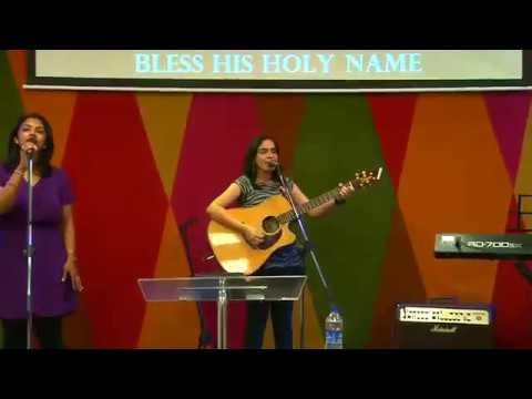 Bless the Lord (He has done great things) English Live Praise & Worship