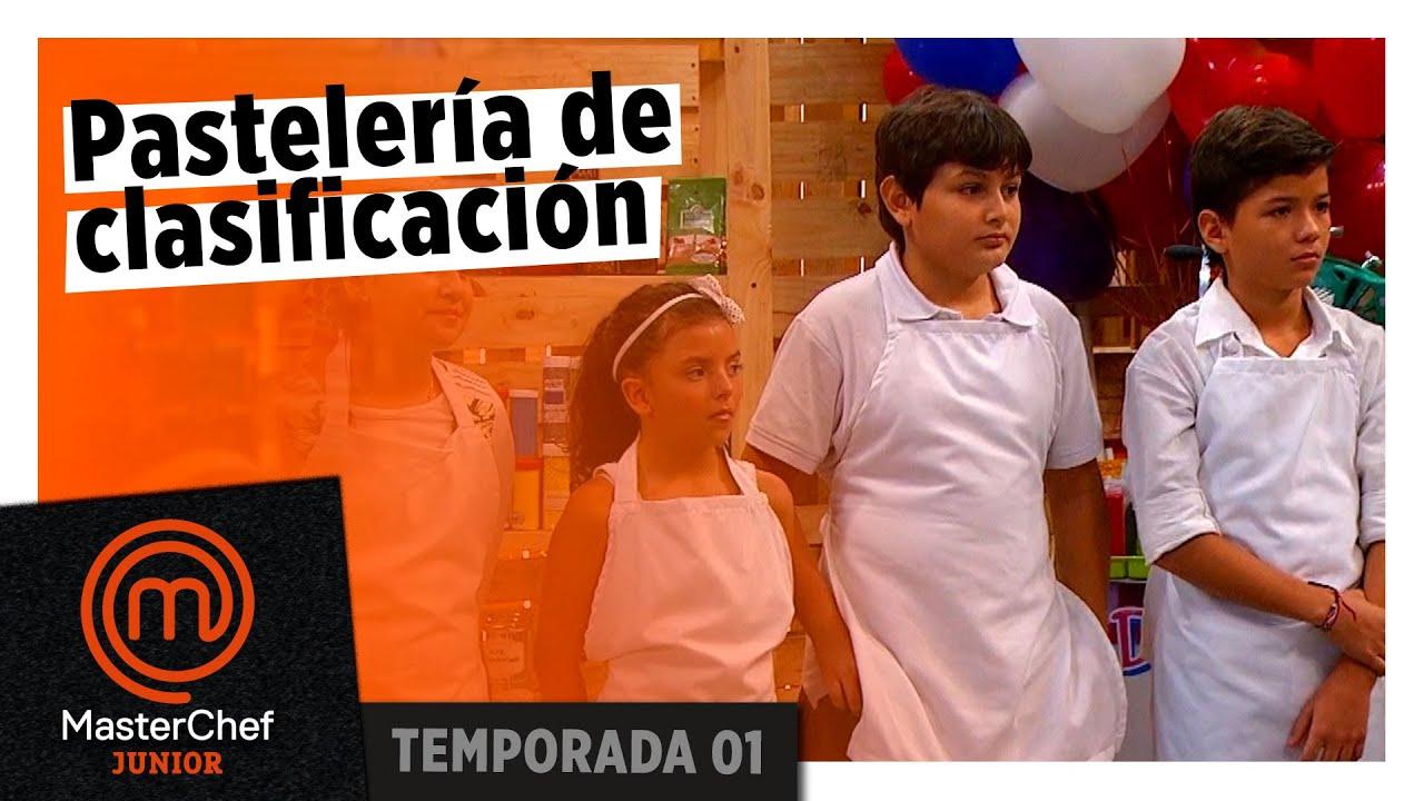 En la última prueba de clasificación: pastelería | TEMP 1 | MASTERCHEF JUNIOR COLOMBIA