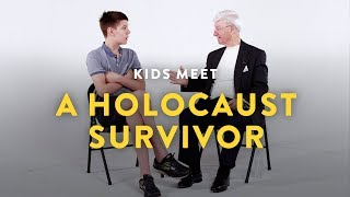Kids Meet a Holocaust Survivor | Kids Meet | HiHo Kids
