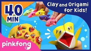 Video Clay Baby Shark and more | Clay | Origami | DIY Craft | Pinkfong Songs for Children download MP3, 3GP, MP4, WEBM, AVI, FLV Juni 2018