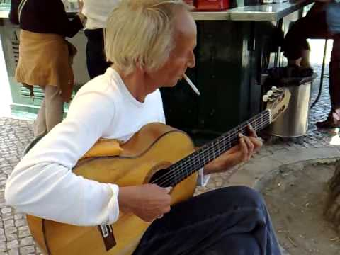 Street Musician Lisbon Portugal
