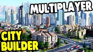 BUILDING EPIC CITIES in MULTIPLAYER | Sim City (2013) Gameplay