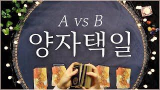 ?타로카드?양자택일 A vs B